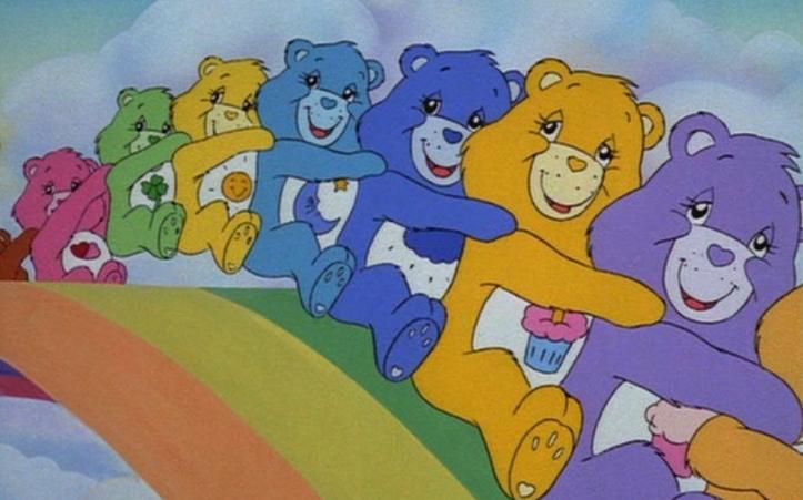การ์ตูนเรื่อง The Care Bears Movie (1985)